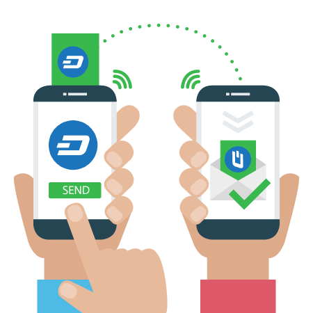 Dash cryptocurrency wallet private send